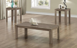 Coffee Table Set - 3 pc - Driftwood Oak