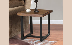 Coffee Table Set - 3 pc - Walnut | Black