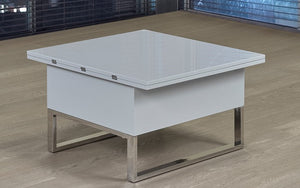Coffee Table with Lift Top and Expandable - Light Grey
