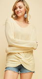 Fifth Avenue Knotted Sweater