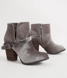 Glory Days Velvet Bootie