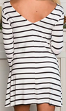 Nicole Stripe Dress