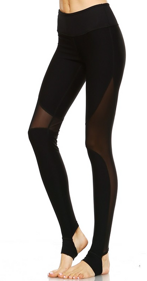 Mesh With Me Activewear Leggings