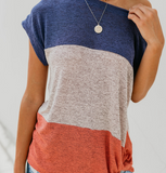 Jaxon Color Block Top