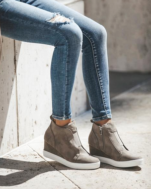 Colorado High Faux Suede Wedge
