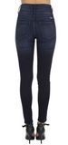 Emma Washed Exposed Button Jeans