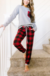 Christmas Morning Buffalo Plaid Pajama Pants