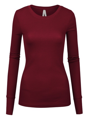 Need Me Now Thermal - Burgundy
