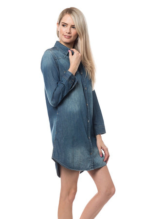 Shirt Denim Dress