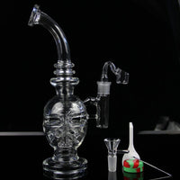 Handmade glass Faberge egg water pipes