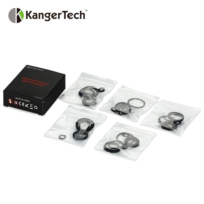 KangerTech TOPTANK Colorful Silicon Seal Ring Set (5 packs)