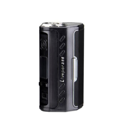 Original 256W Yosta Livepor TC Box MOD W/ Big Fire Button & Three LED Colors