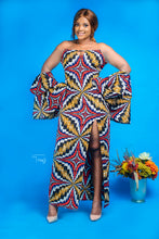 Load image into Gallery viewer, Funke African print dress - Afrothrone