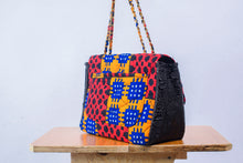 Load image into Gallery viewer, Eno African print Ankara/Adire bag - Afrothrone