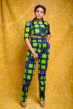 The Dami African print Ankara High waist Trouser Pants - Afrothrone