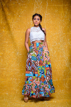 Load image into Gallery viewer, Bomi African print Ankara skirt - Afrothrone