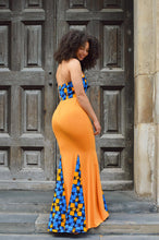 Load image into Gallery viewer, Paragon African Print maxi dress - Afrothrone