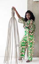 Load image into Gallery viewer, Binah African print silk pants