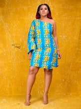 Load image into Gallery viewer, Kansime African print dress - Afrothrone