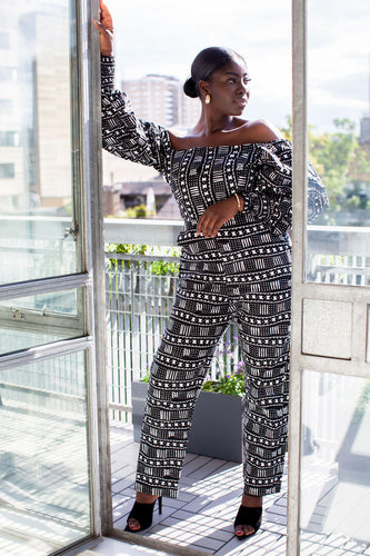 Noma African print jumpsuit