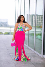 Load image into Gallery viewer, Kali Africa print Ankara maxi dress.