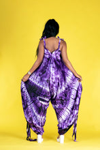 Load image into Gallery viewer, Atika African tie dye print harem jumpsuit - Afrothrone