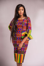 Load image into Gallery viewer, Lerato kente dress - Afrothrone