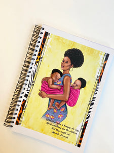 African proverb inspirational Journal wire notebooks