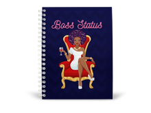 Afbeelding in Gallery-weergave laden, Boss Status Spiral Notebook / Journal