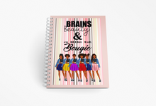 Load image into Gallery viewer, School girl inspirational Spiral notebook/Journal