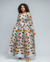Load image into Gallery viewer, African print Nene maxi dress