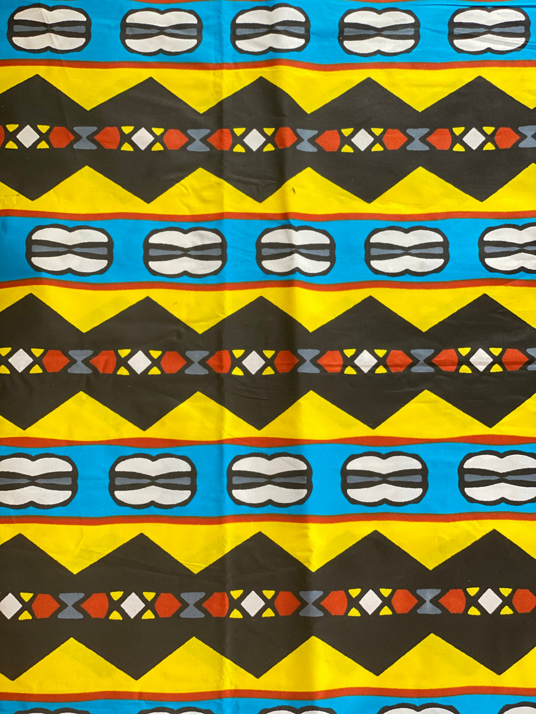 100% cotton African print fabric by the yard