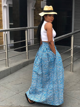 Afbeelding in Gallery-weergave laden, Maita African Maxi skirt - Afrothrone