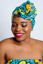 Load image into Gallery viewer, Kimber African Print headwrap - Afrothrone