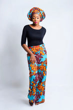 Load image into Gallery viewer, Mara African print stripe trouser/pants - Afrothrone