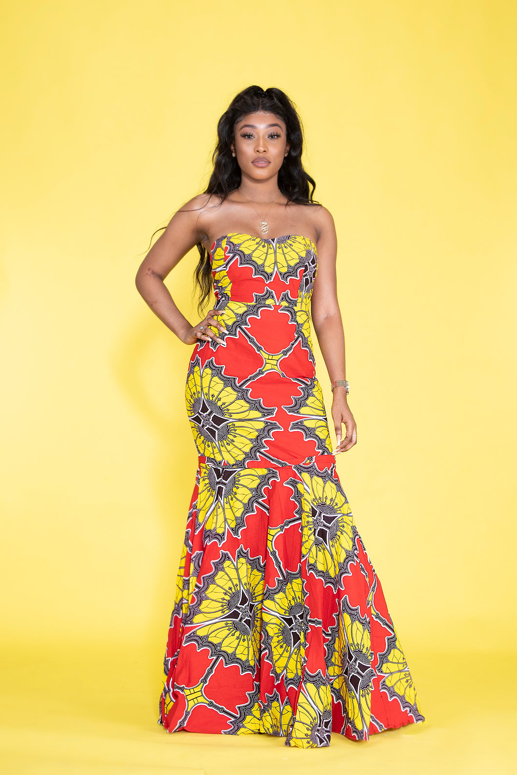 Bonang African print Ankara multi-way dress - Afrothrone