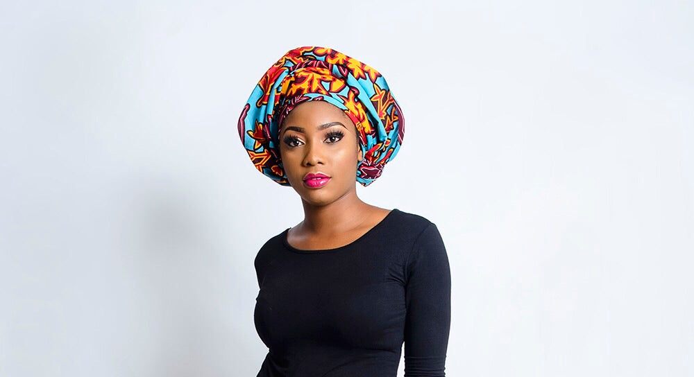 Mara African Print headwrap - Afrothrone