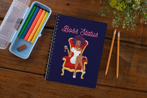 Boss Status Spiral Notebook / Journal