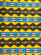 Load image into Gallery viewer, 100% cotton African print fabric by the yard