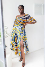 Load image into Gallery viewer, Zuri African print chiffon top