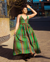 Load image into Gallery viewer, Onyi African print maxi dress