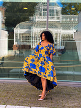 Load image into Gallery viewer, Monifa African print dress