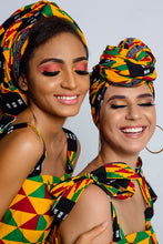 Ono African Print headwrap - Afrothrone
