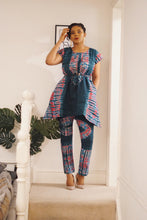 Load image into Gallery viewer, Arike 2 piece African batik tie dye set