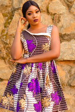 NEW IN Asabe African print skater dress - Afrothrone