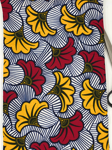 African fabric 100% cotton, African print fabric by the yard