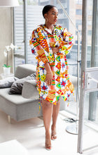 Load image into Gallery viewer, African print Tanya dress/kimono