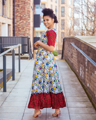Jabulani African 2 piece set