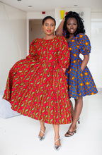 Load image into Gallery viewer, African print Feechi dress