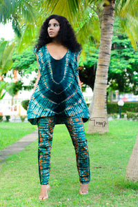 Mali African print Trousers/ pants - Afrothrone